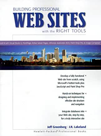 Building Professional Websites book cover.