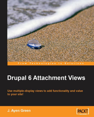 D6 Attachment Views book cover.