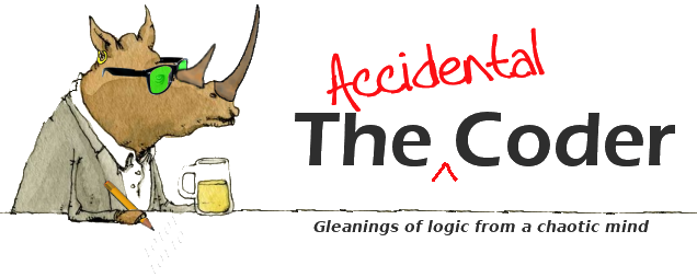 The Accidental Coder logo